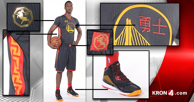 new style 09765 e0fda Golden State Warriors Reveal Chinese New Year Uniforms