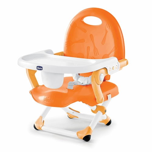 Mama's got to have one! PishPosh Baby's is chic and oh so convenient with a carry strap and compact fold that makes it easy to take along to restaurants, on vacation, or to visit family. Features easy-to-clean surfaces, three tray positions, three...