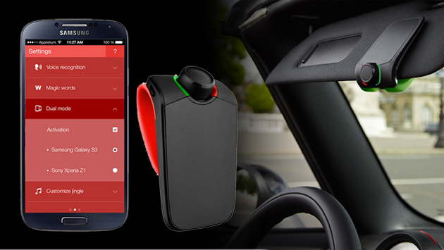 Parrot Mini Kit Neo 2 HD is a great simple to use gadget that clips onto the visor in the car giving Mom hand's free talking thru her smartphone when driving. Best part it can pair two different phones at once for different users.   $81...