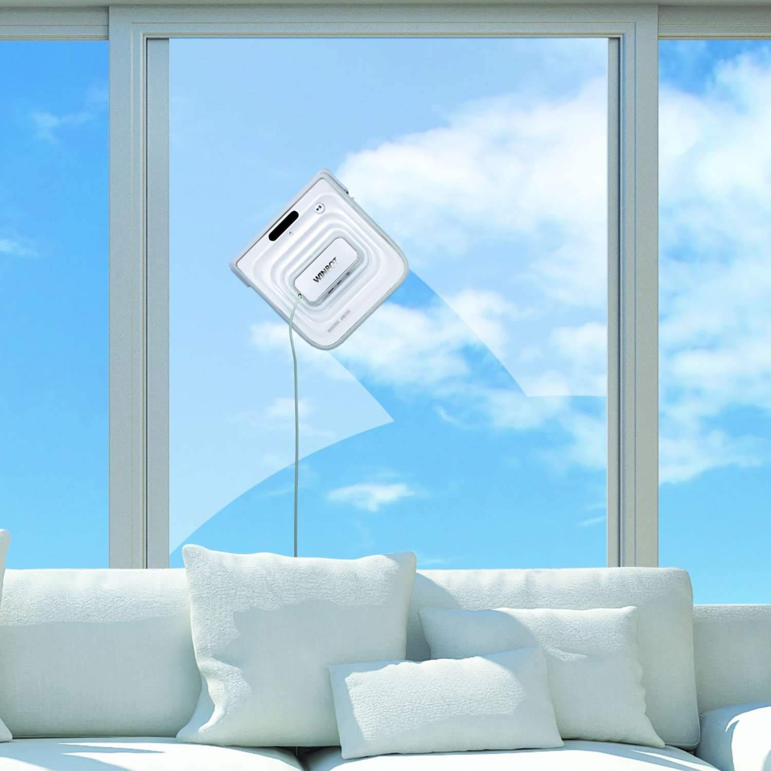 Know someone with a lot of windows in their house? Meet Winbot the window cleaning robot.  Operation is very easy – users just power her on, securely place her on the window, and press start. Winbot's Pathfinder Technology automatically scans and...