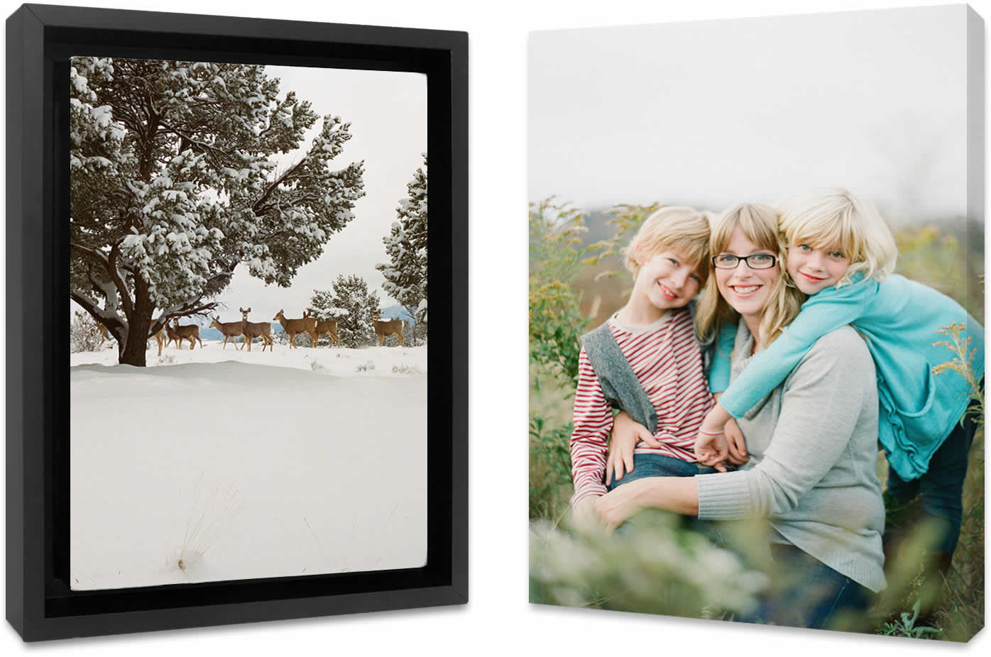 Making a gallery wrapped canvas print from a favorite photo is a great personalized gift.  With a few clicks you can order a high quality canvas print framed or wrapped. I have bought a dozen of these as gifts and they never disappoint. It's...