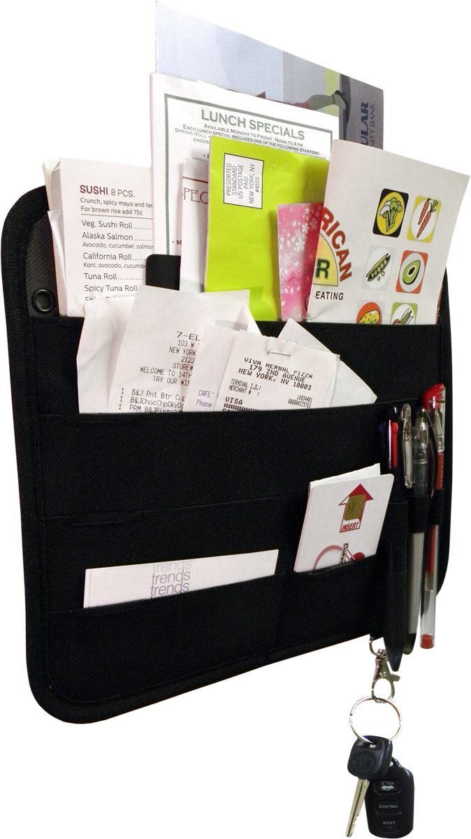 Here's a low-tech cheap handy gift idea to help keep Mom organized. Keep bills, recipes, receipts, reminders, coupons, letters and more at the touch of her fingertips with the Sort It magnetic fridge organizer. Attach to fridge, wall, magnetic...