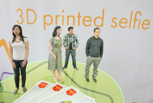 """Forget 2D selfies give the gift of small figurine of yourself with the kids. A """"shapie"""".  Visit Artec's showrrom in Palo Alto where they will scan your body in their 3D printer photo booth and a week later mail you a tiny version of yourself. A..."""