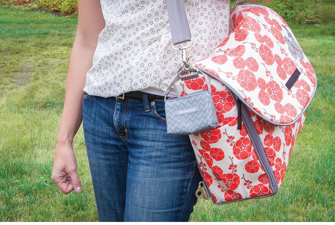 Great low tech innovation that can help keep Mom stress-free during a challenging day. Diaper bags can become a bottomless pit of stuff making it difficult to find small items at a moment's notice.  The PaciPouch is a small zippered pouch that can...