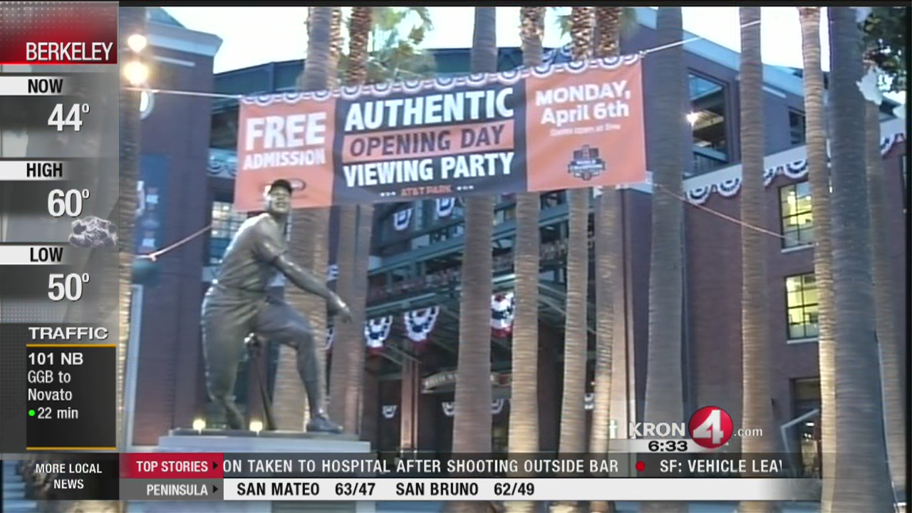 SF Giants Opening Day