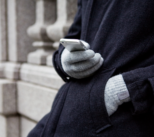 Keep Mom warm and connected with Digits. These dual-layered touch screen gloves are designed to go hand-in-hand with your mobile device. Each fingertip is made with a special conductive fiber that enables responsive and accurate gesturing on your...