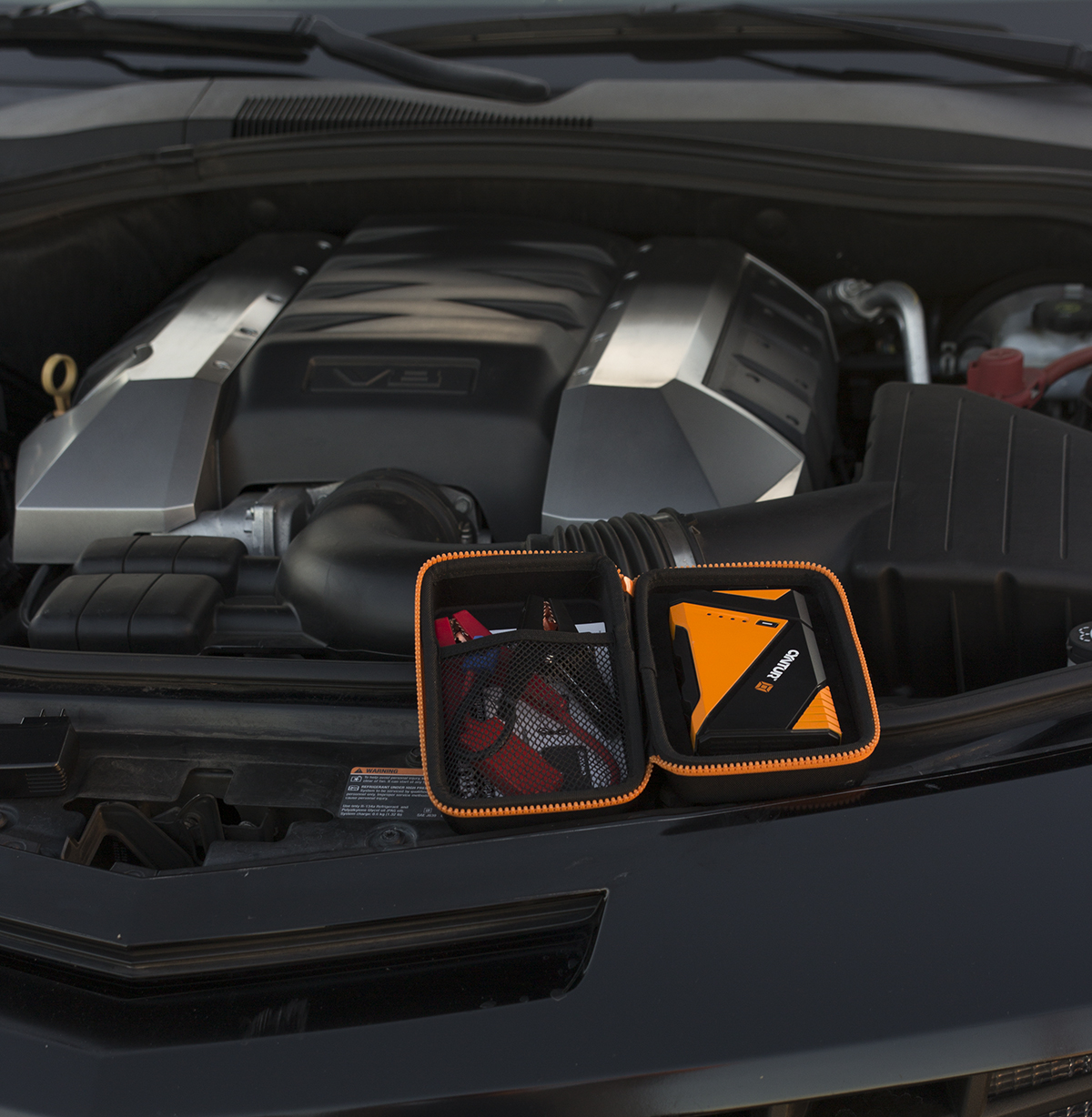 -- Wow this is cool!  Keep Mom on the road running with this tiny gadget that stays in car or purse.   It jumps a dead car battery 6 times off one charge. Holds the charge for a year! Also charges smartphones and tablets, and has a flashlight....
