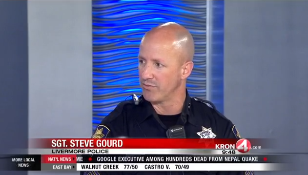 KRON 4's Marty Gonzalez speaks with Livermore Police about