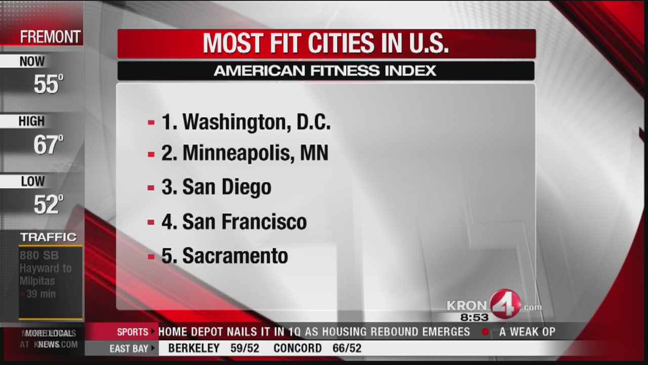 List of America's healthiest cities is out