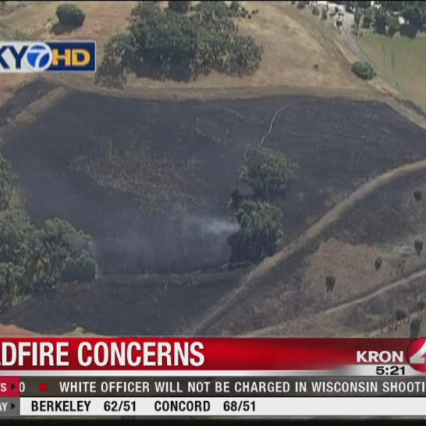 East Bay fire concerns