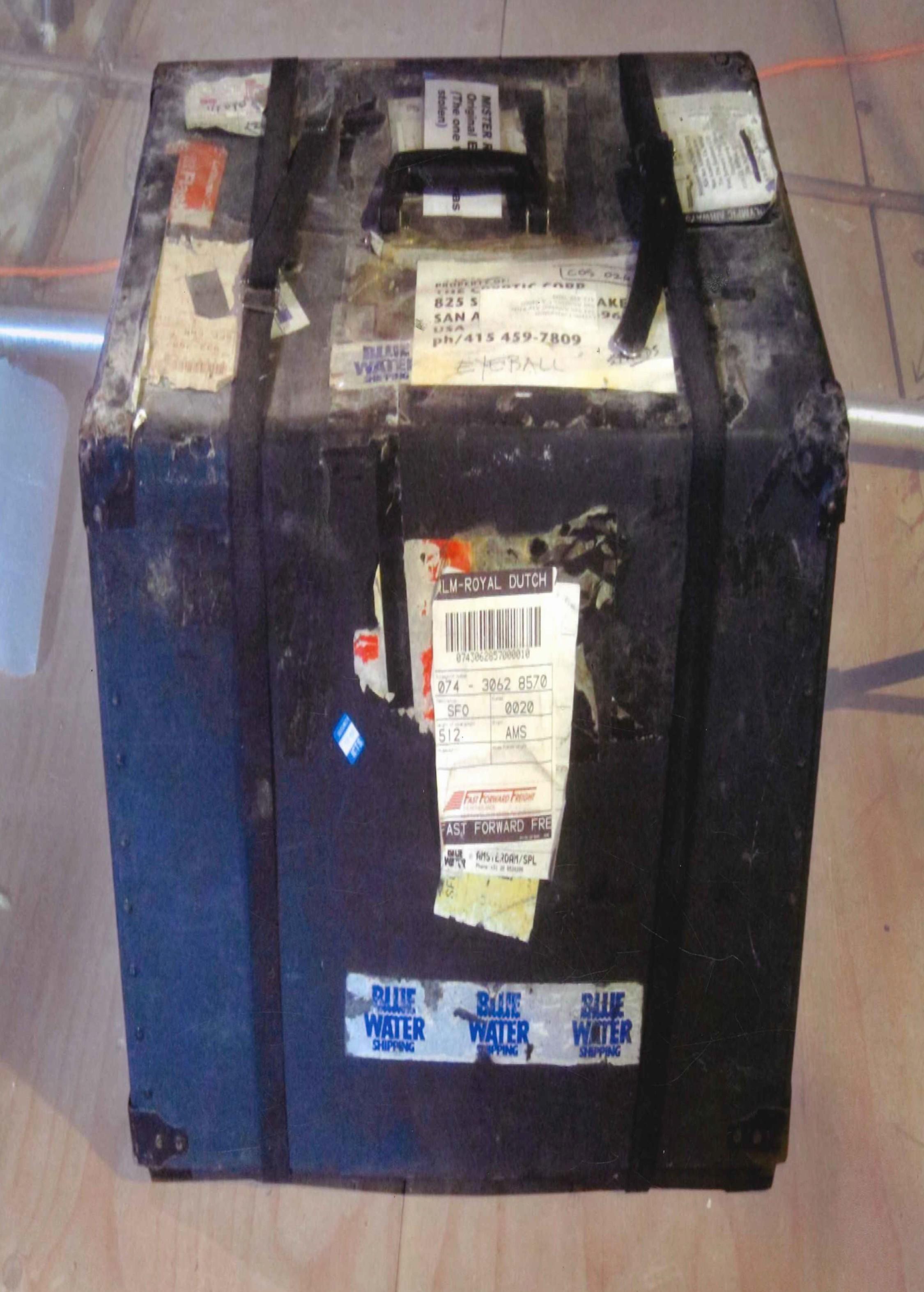 intercepted package