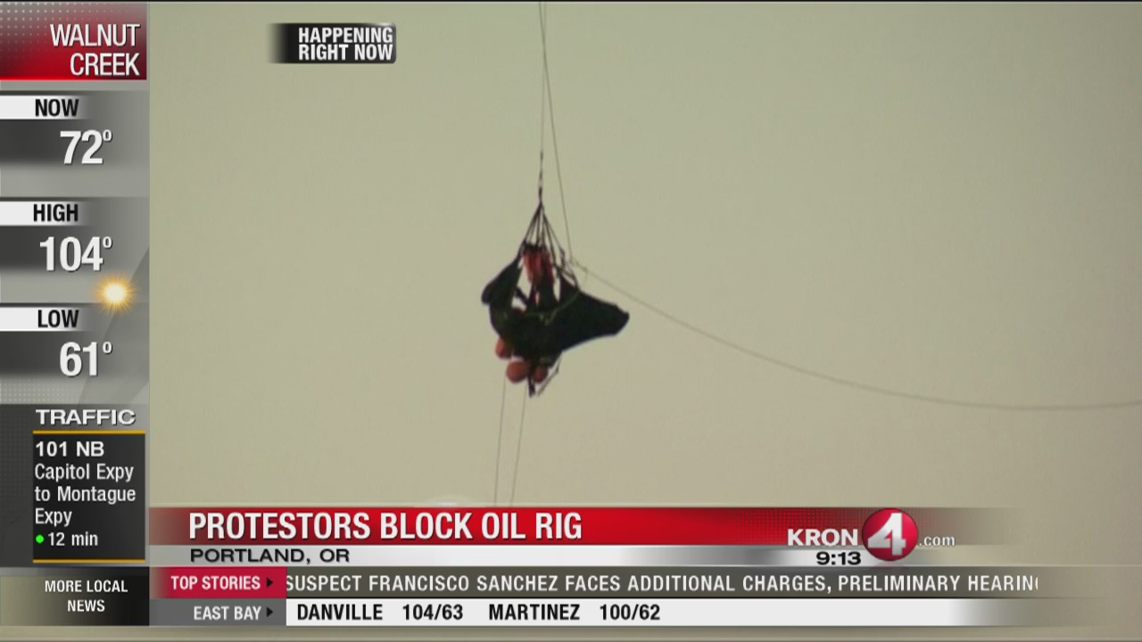 Oregon oil protest
