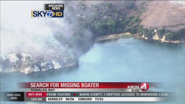 Body of boater identified, search continues in Tomales Bay