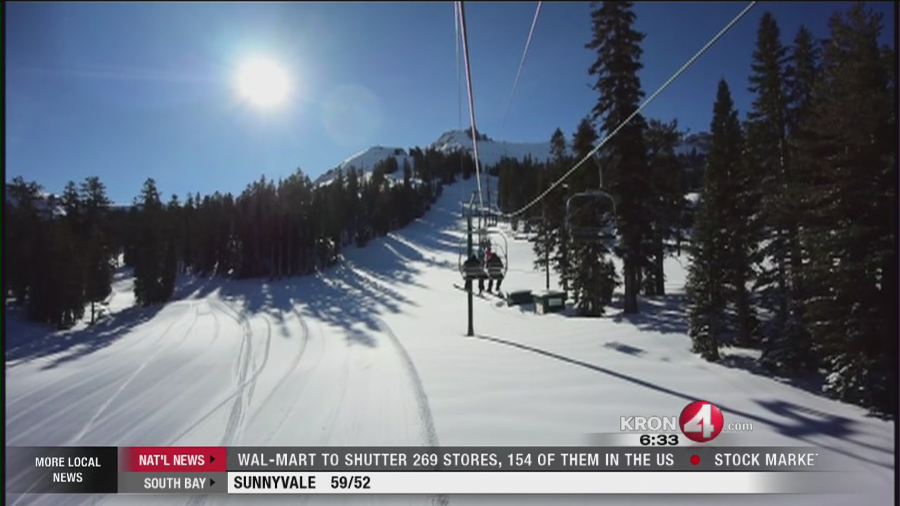 Avalanche warning for the Sierra backcountry