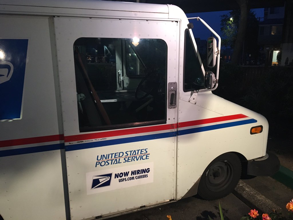 FILE PHOTO of USPS mail truck_341989
