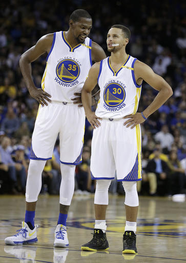 Kevin Durant, Stephen Curry_469224