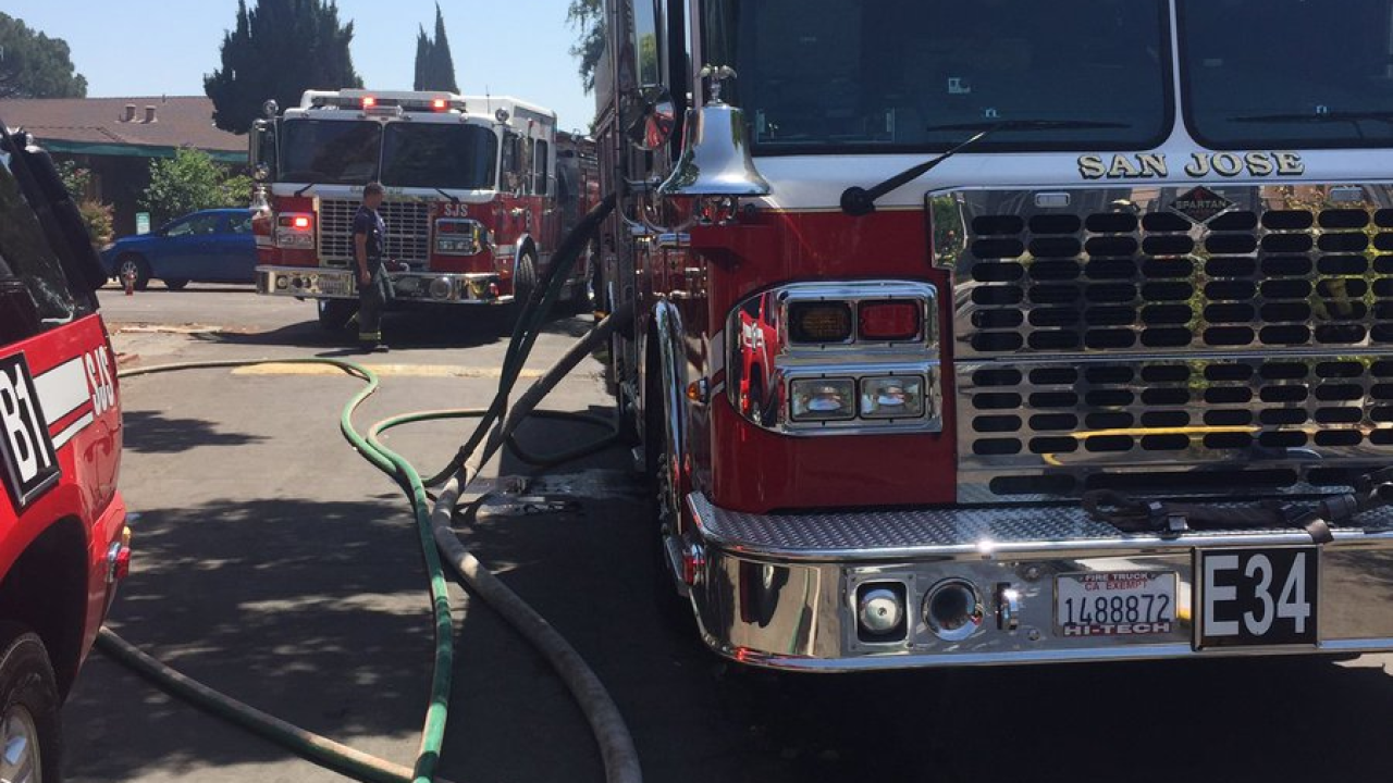 Crews respond to fires burning more than 7 acres in San Jose
