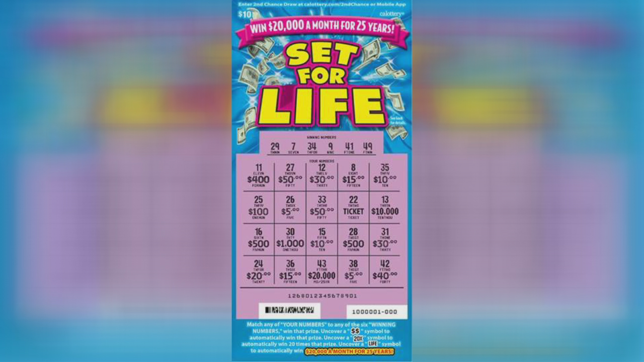 Woman buys winning $6 million lottery ticket at Oakland Safeway