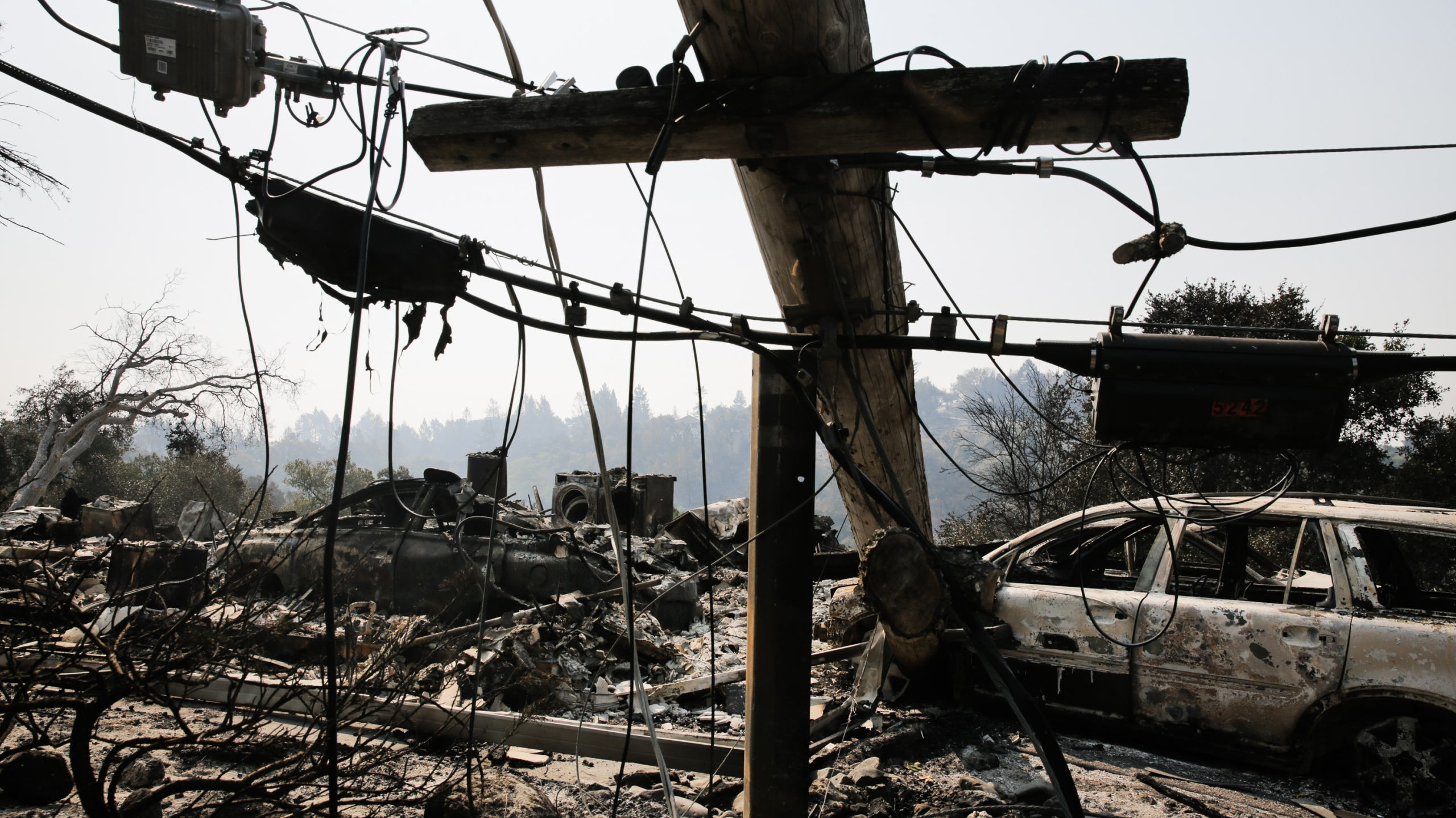 Multiple Wildfires Continue To Ravage California Wine Country_651685