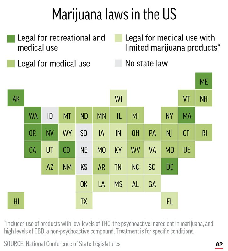 VIDEO: New US pot rule sparks latest clash over states' rights