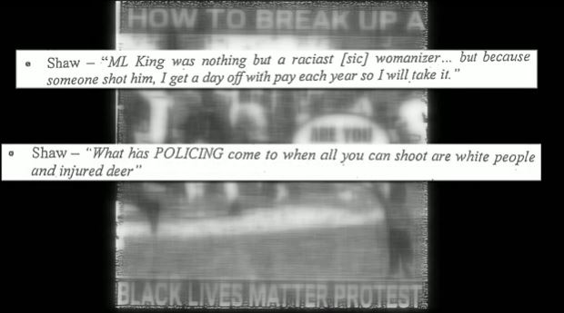 If black then shoot': Released records show hateful messages