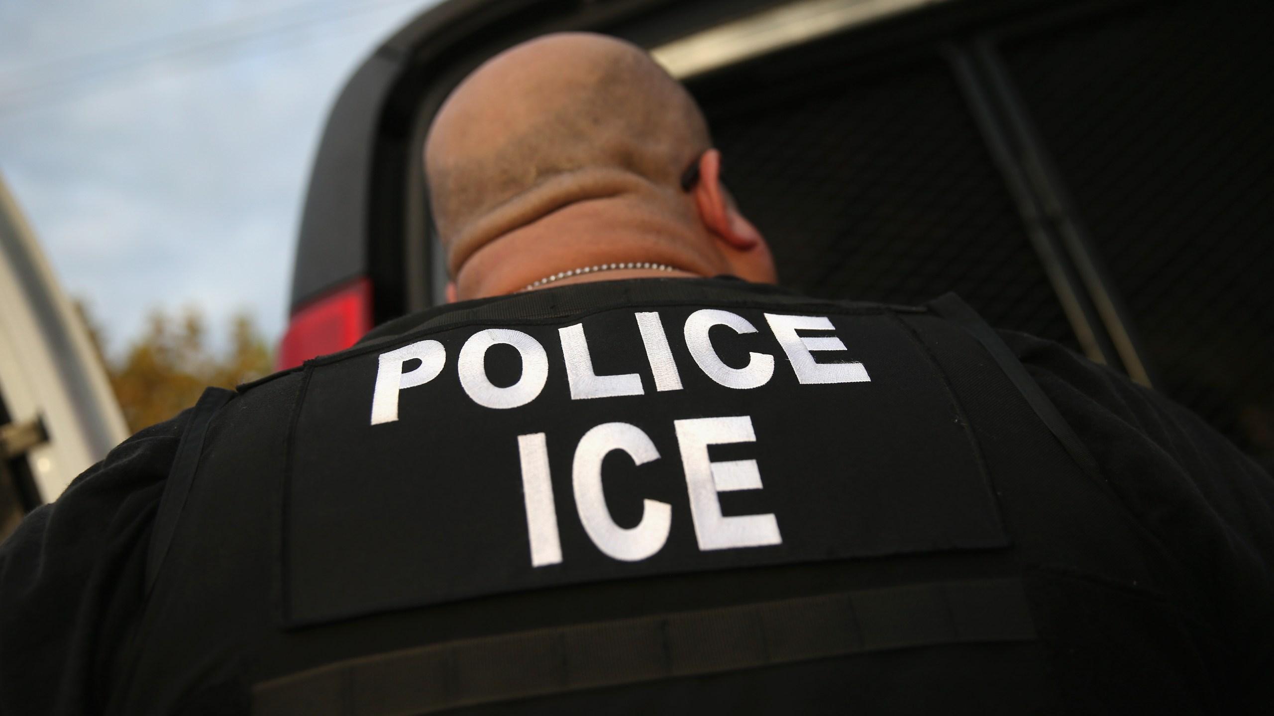 ICE Agents Detain Suspected Undocumented Immigrants In Raids_729642