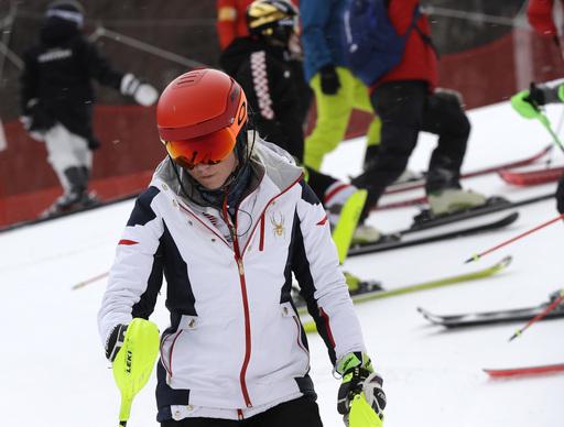 Pyeongchang Olympics Alpine Skiing_722810