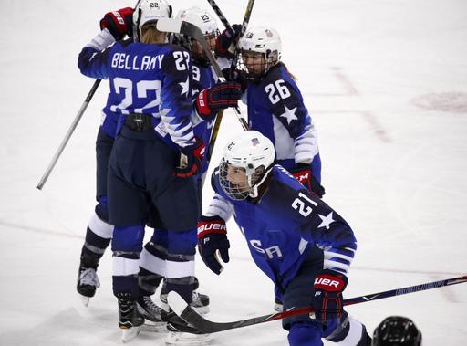 Pyeongchang Olympics Ice Hockey Women_727819