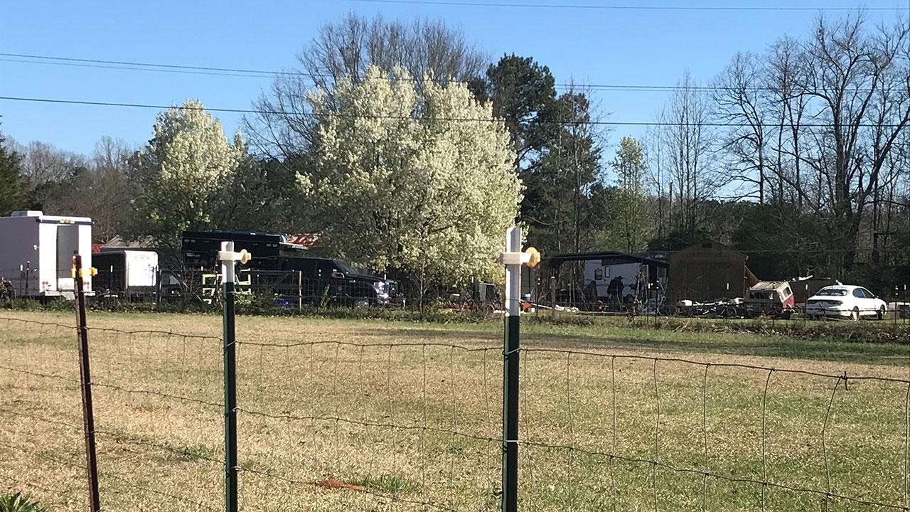 Travis Road FBI investigation Anderson-County scene