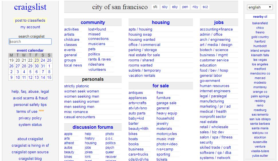 Craigslist closes personals sections in US, cites measure