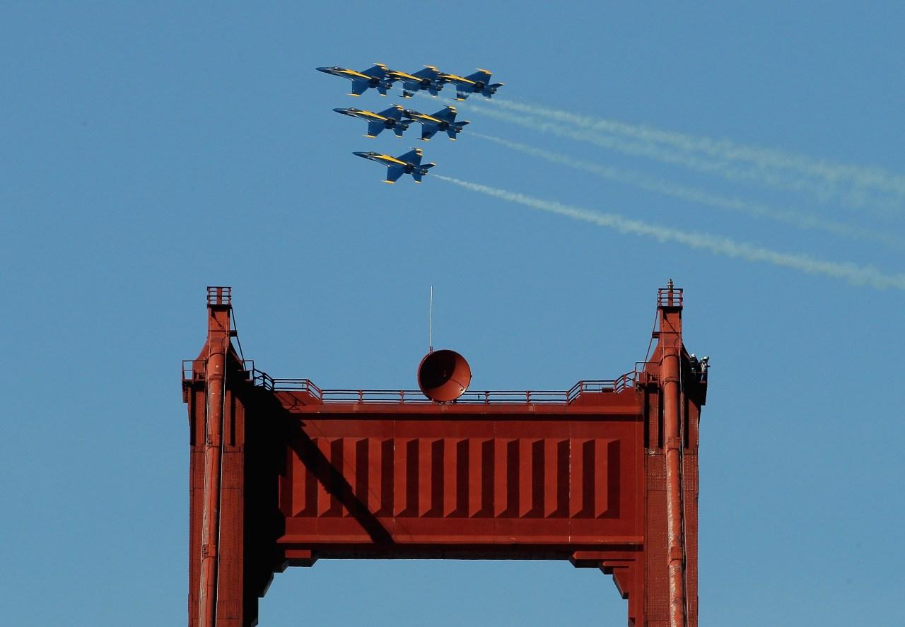 Fleet Week SF 2021: Schedule of events & Blue Angels flight times