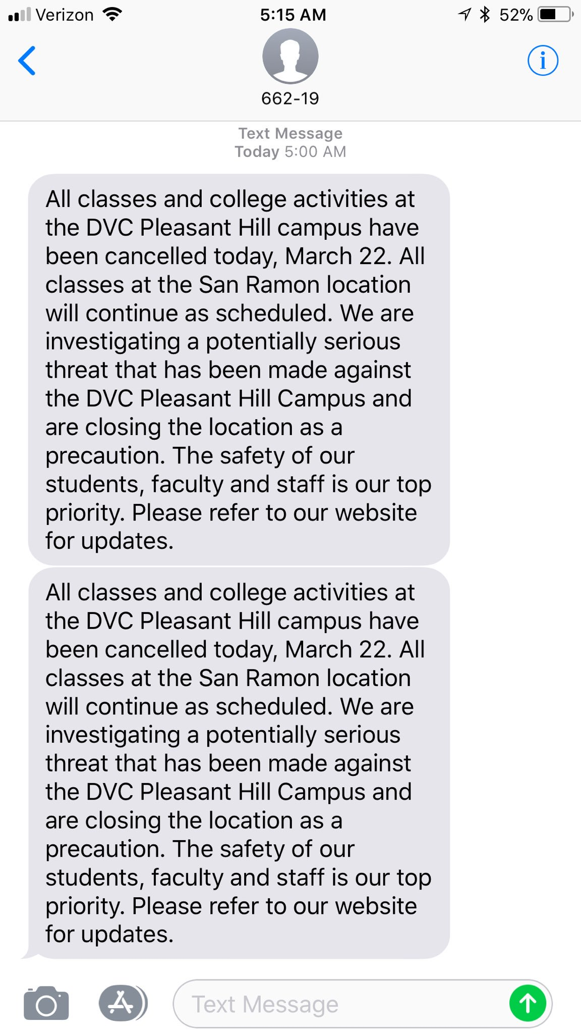 Diablo Valley College cancels cles after threat found on ... on san ramon dvc campus, dvc concord campus, pleasant hill ca, map of southeastern technical college campus,