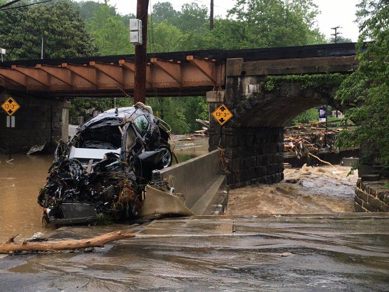 Rescuers seeking 1 man still missing in Maryland flooding