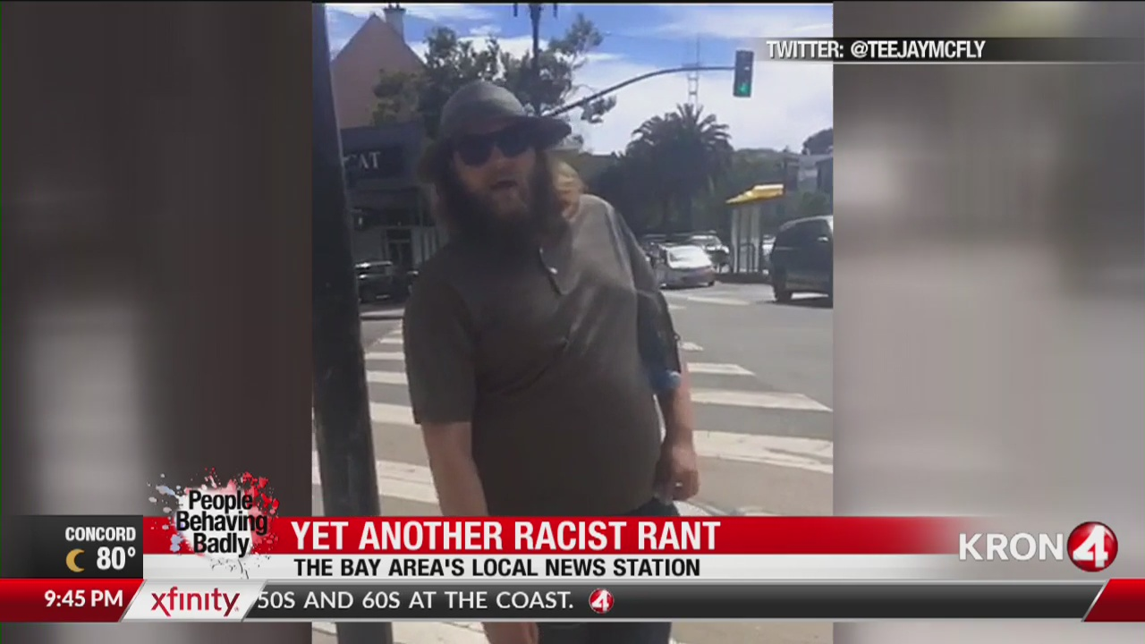 People Behaving Badly: Yet another racist rant