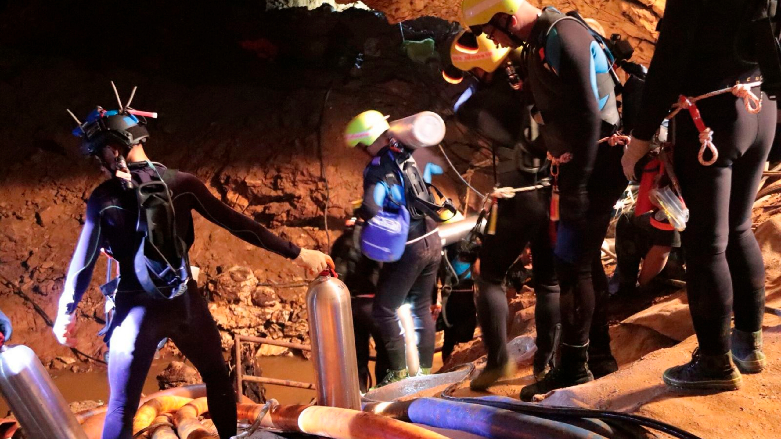 Thai cave rescue documentary to air on Discovery Channel