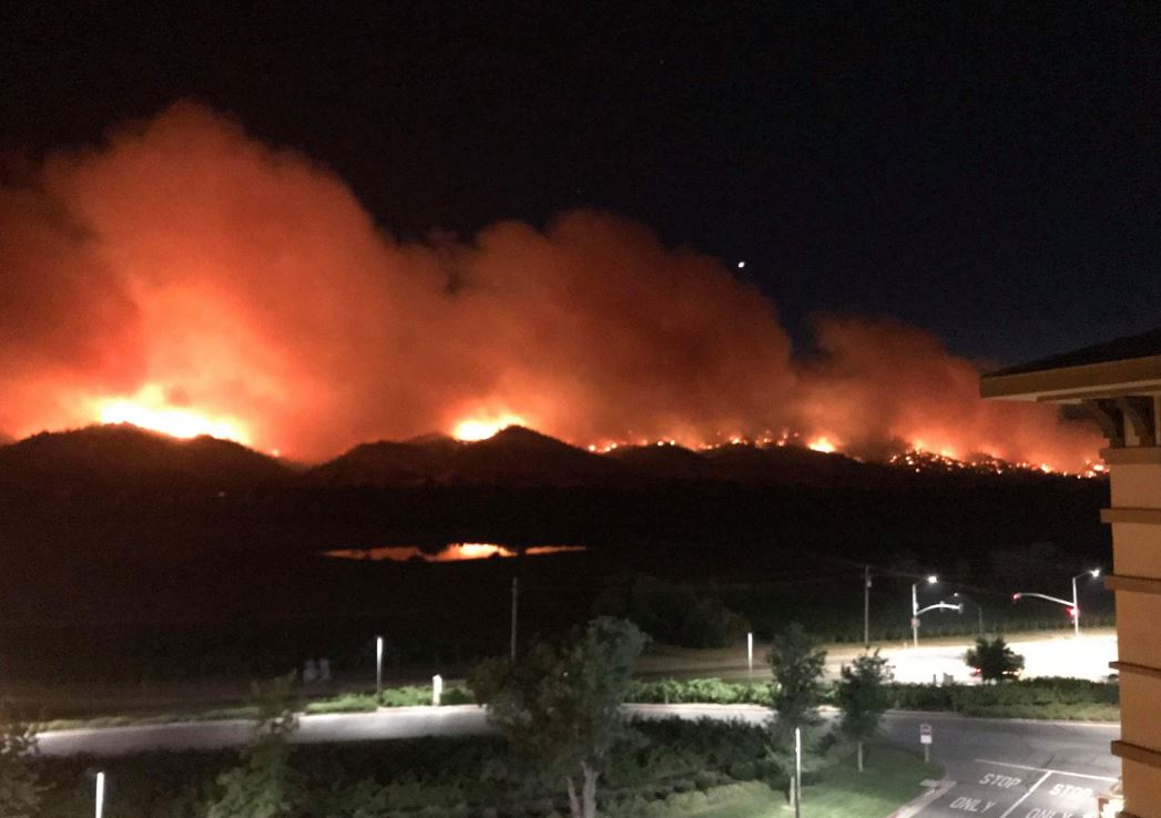Yolo County Fire grows to 60,000 acres, 5-percent contained
