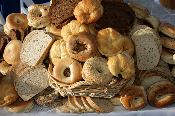 bread bagels carbohydrates