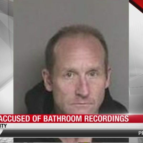 Police say man hid camera in Starbucks bathroom