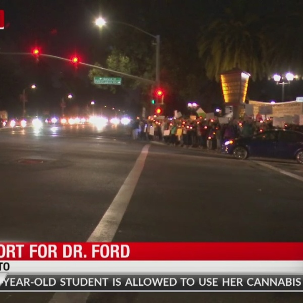 Support grows for Dr. Ford