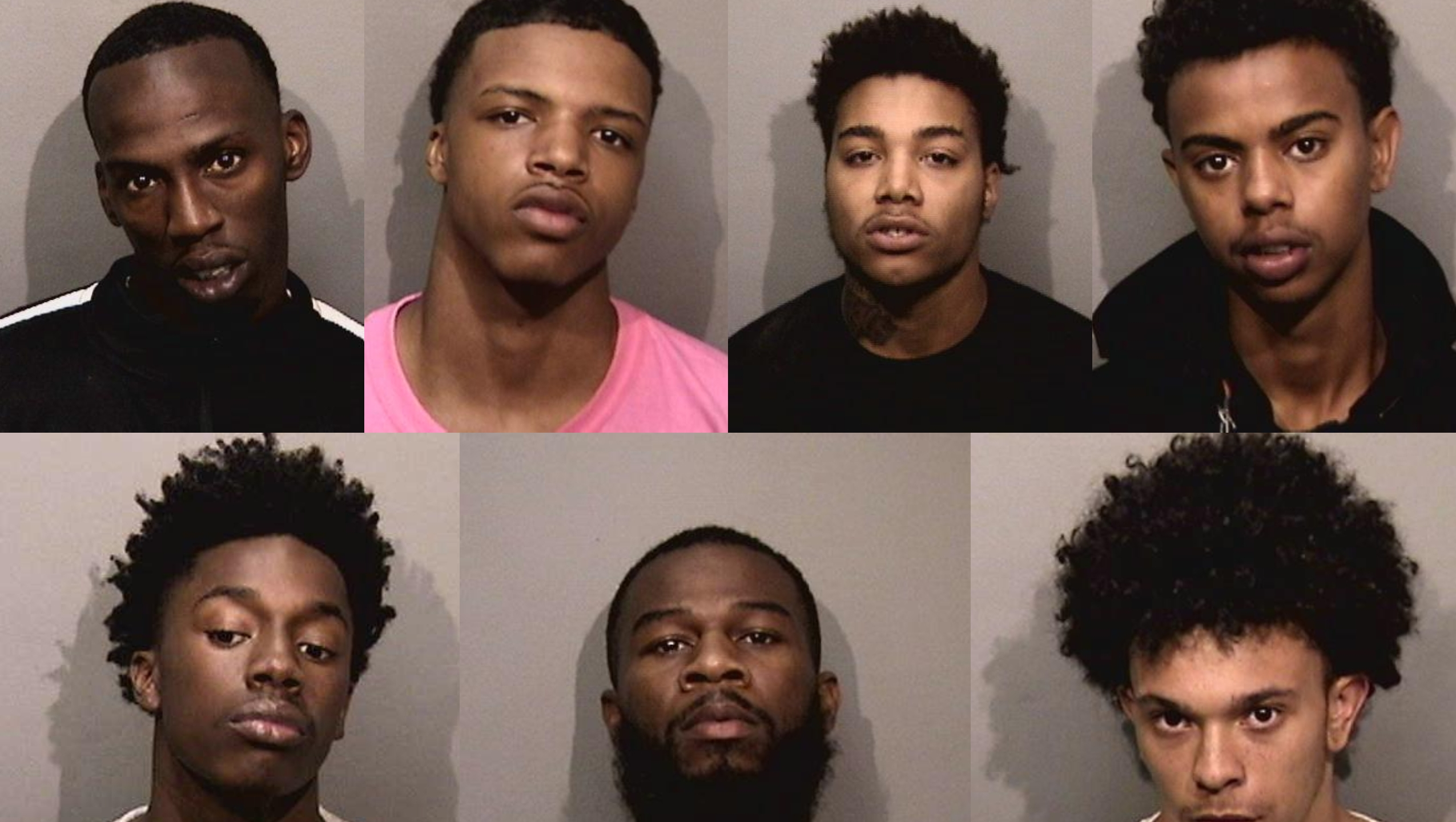Mugshots of suspects arrested in $1M Apple Store robbery scheme