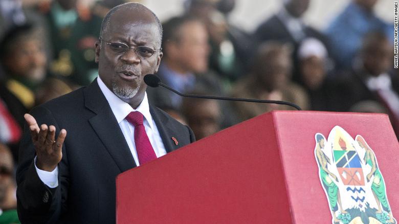tanzania president john magulfi