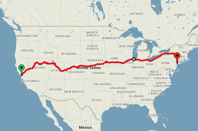 SF to NYC: How to see America's beautiful sights by train for around $200
