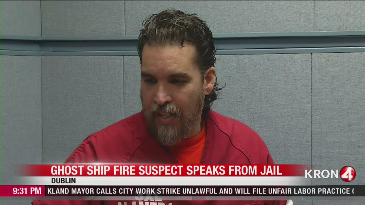 ONLY on 4: Jailhouse interview with Ghost Ship's Derick Almena on eve of hearing