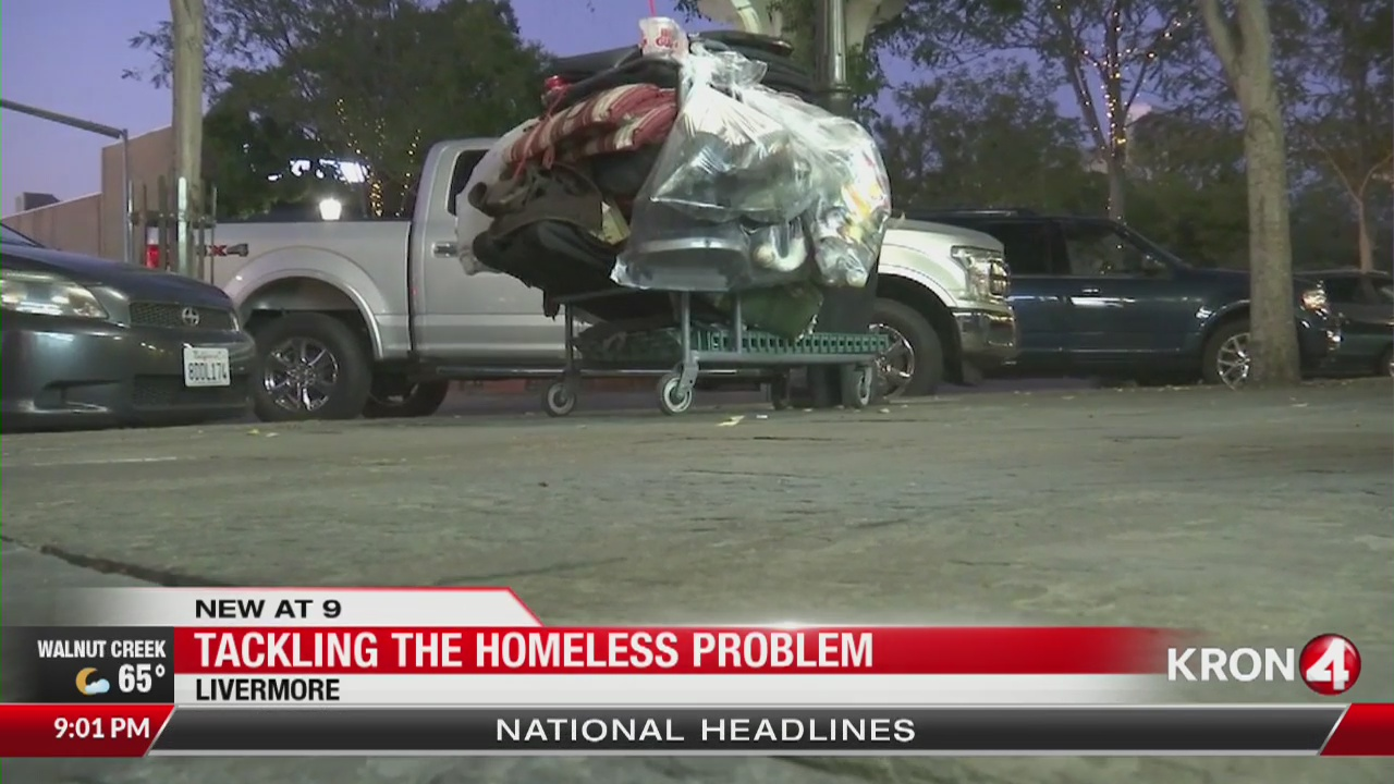 Livermore residents say homeless people downtown are getting