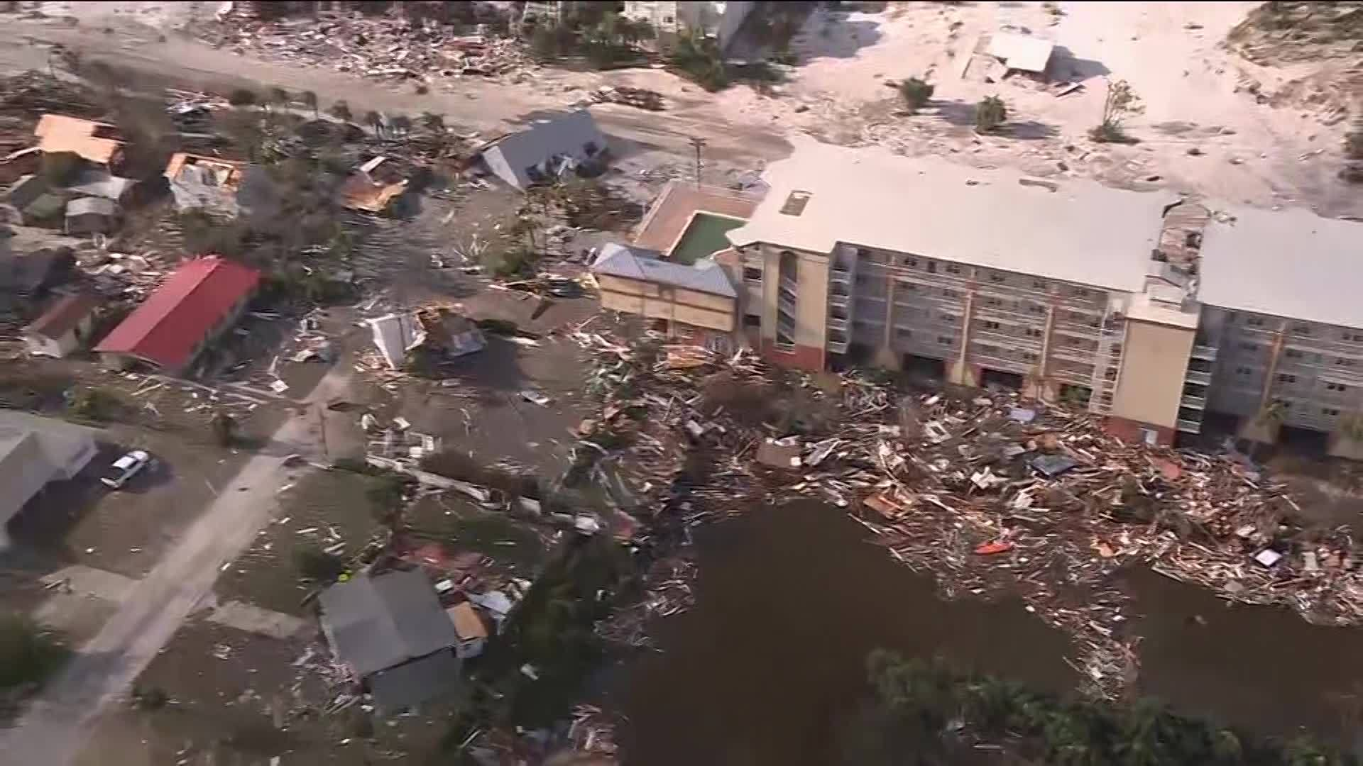 Hurricane Michael destroys Mexico Beach