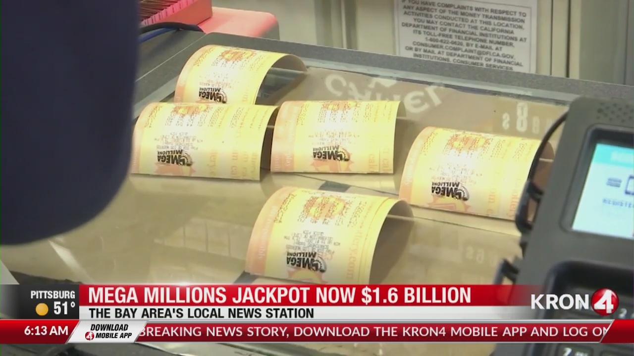 Drawing for $1 6 billion Mega Million jackpot is tonight