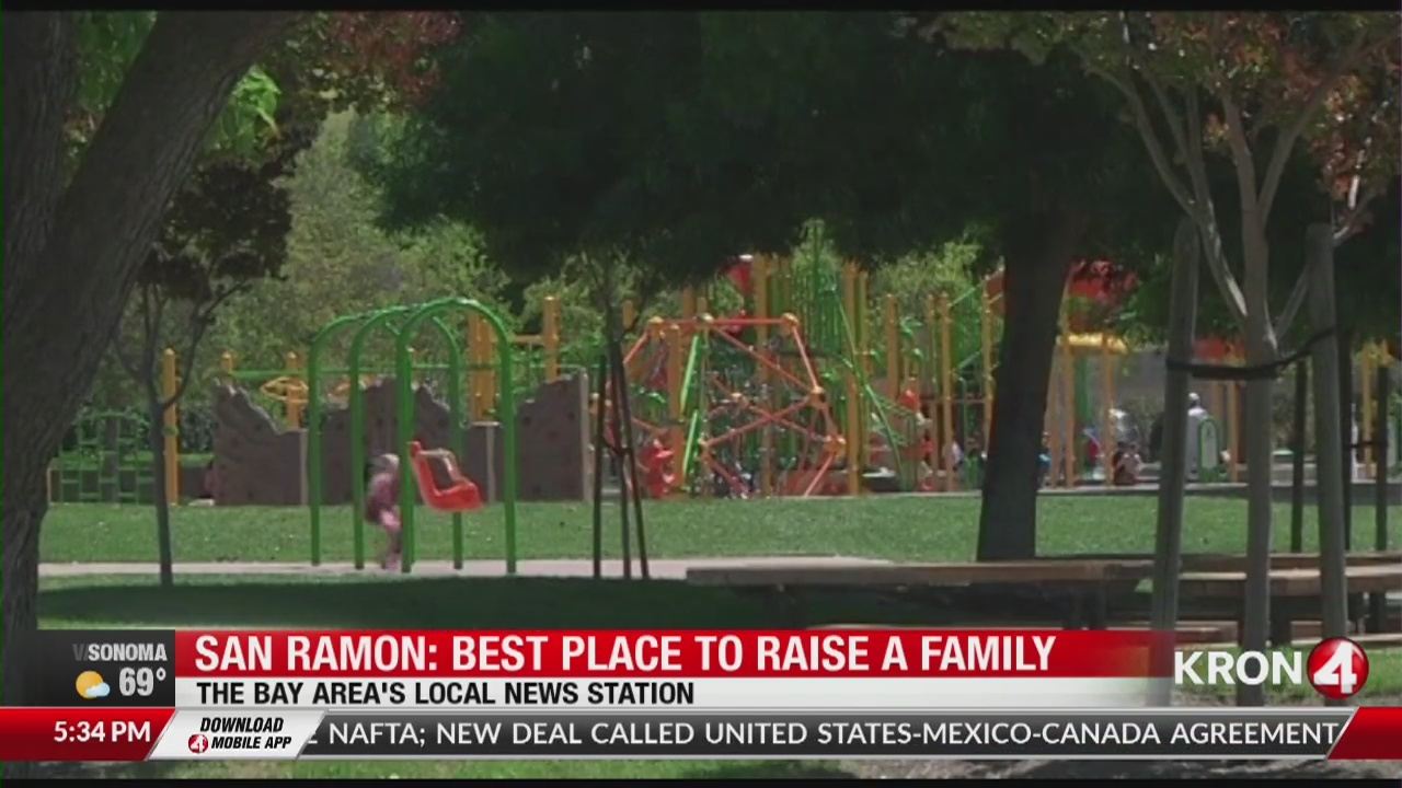 San Ramon ranked best city to raise family in Bay Area