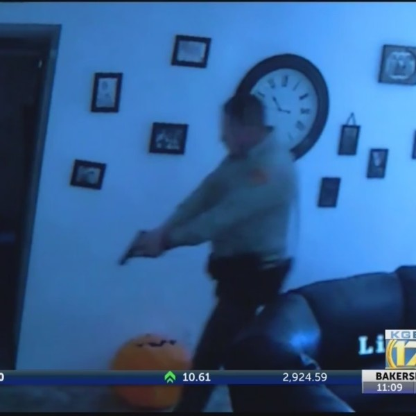 Taft mother holds burglar at gunpoint until police arrive