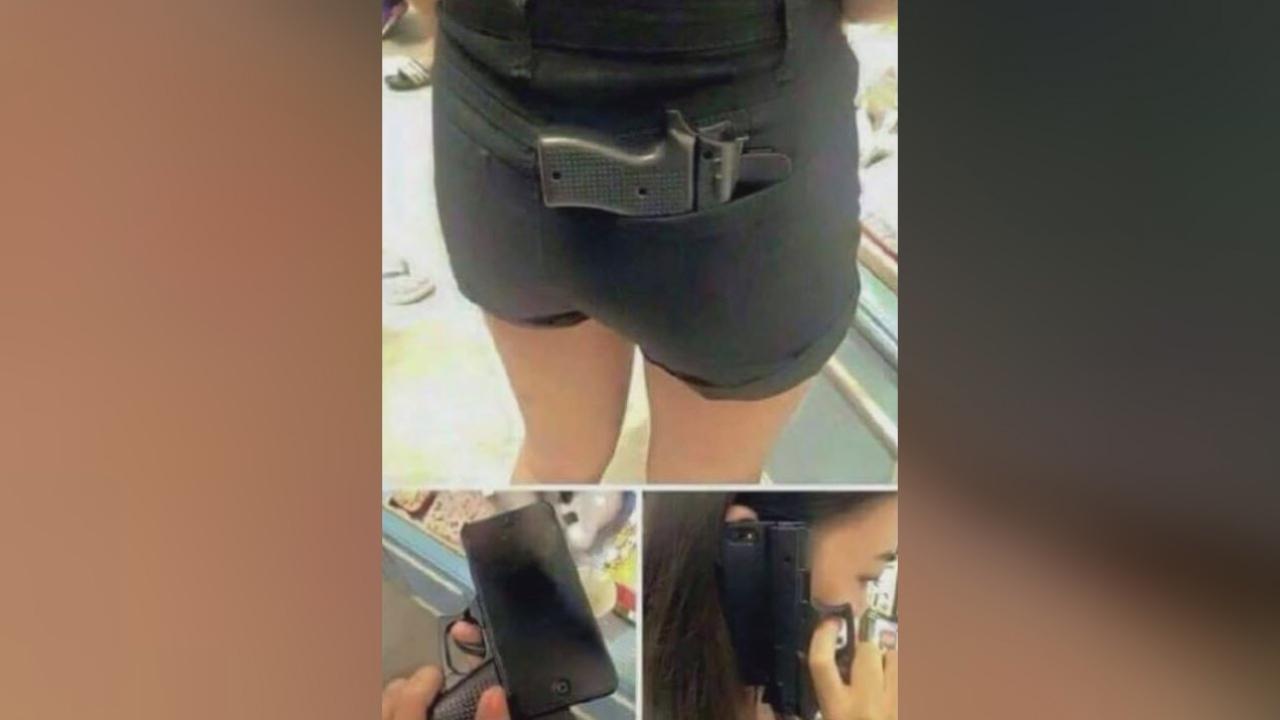 gun cell phone case