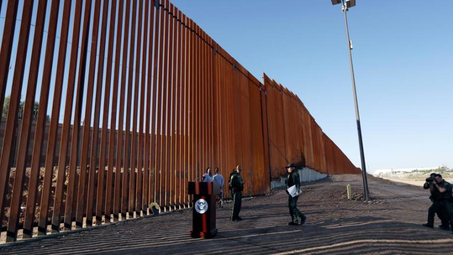 Construction of 6-mile Texas border wall to begin February after